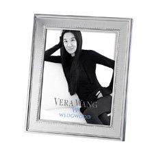 """Vera Wang Grosgrain Silver Giftware Frame 8""""x10"""" (20x25cm)"""