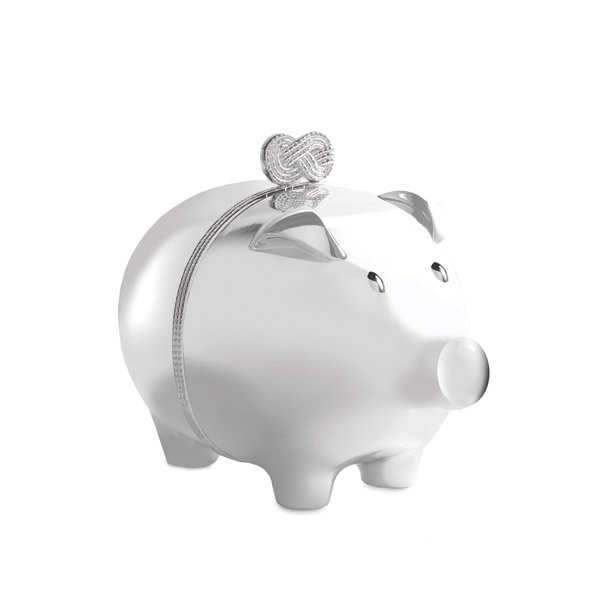 Vera Wang Wedgwood Infinity Piggy Bank