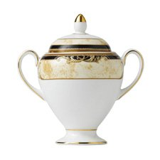 Wedgwood Cornucopia Covered Sugar