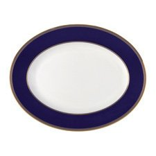 Wedgwood Renaissance Gold Oval Dish 39cm
