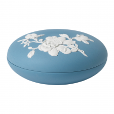 Magnolia Blossom Covered Box 6cm