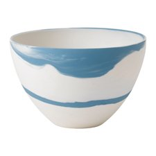 Blue Pebble Bowl 18cm