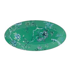 Jasper Conran At Wedgwood Chinoiserie Green Oval Dish 45X24cm