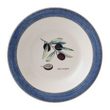 Sarah's Garden Pasta Bowl Blue