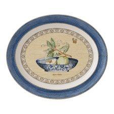Sarah's Garden Oval Platter 42cm