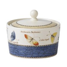 Wedgwood Sarah's Garden Covered Sugar Blue