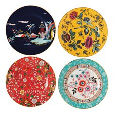 Wonderlust Plates 20cm - Set of 4