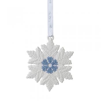 Christmas Snowflake Ornament White