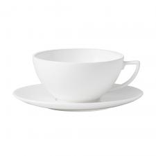 Jasper Conran White Teacup & Saucer