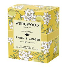 Wedgwood Tea Garden Lemon & Ginger Tea 60g