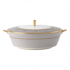 Anthemion Grey Covered Vegetable Dish
