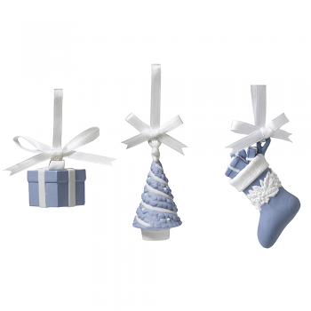 Festive Charms Set of Three Mini Ornaments