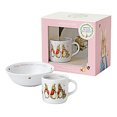 Wedgwood Peter Rabbit Girl 2 Piece Set