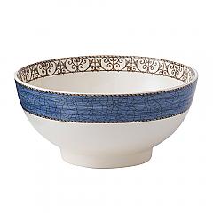 Sarah's Garden Bowl 20cm Blue