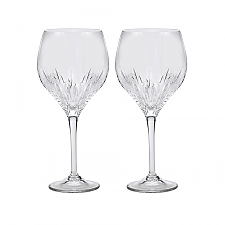 Vera Wang Wedgwood Duchesse Crystal Goblet set of 2