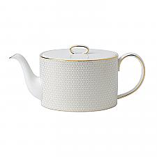 Wedgwood Arris White Teapot 1ltr