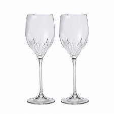 Vera Wang Wedgwood Duchesse Crystal Wine set of 2