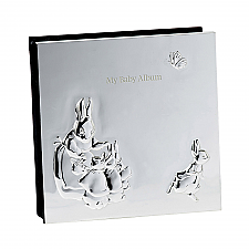 Peter Rabbit Silver Baby Album