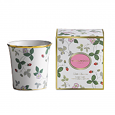 Wedgwood Little Luxuries Wild Strawberry Candle: Strawberry & Vanilla Fragrance