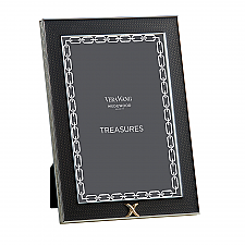 "Vera Wang Wedgwood With Love Treasures Noir X  4""x6"" Frame"