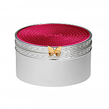 Vera Wang Wedgwood With Love Treasures Pink Butterfly Trinket Box