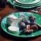 Jasper Conran Chinoiserie Green Oval Dish 45X24cm