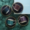 Byzance Set of 4 Teacups and Saucers