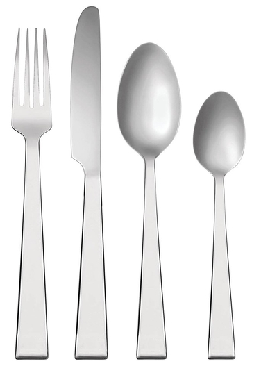 Vera Wang Wedgwood Bande 16 Piece Cutlery Set