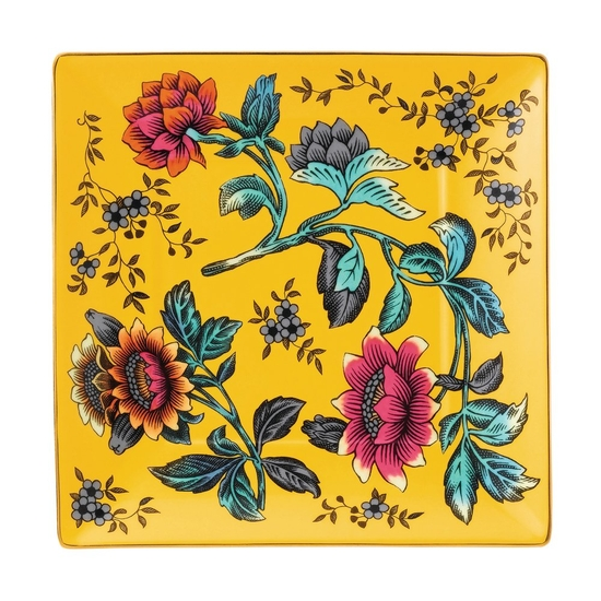 Wonderlust Yellow Tonquin Tray 14.5cm