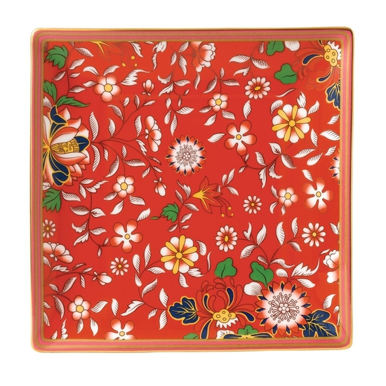 Wonderlust Crimson Jewel Tray 14.5cm