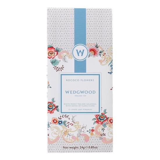 Wonderlust Rococo Flowers White Blend Tea