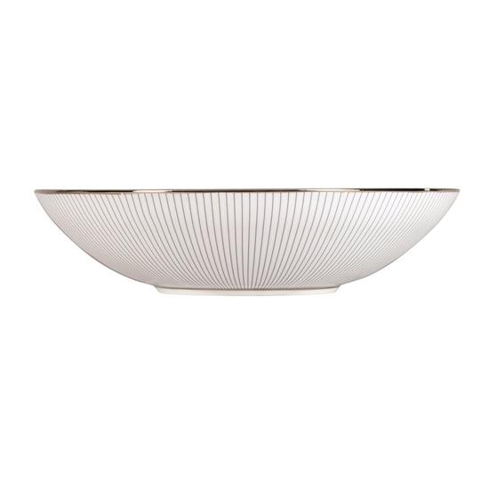 Jasper Conran Pin Stripe Soup Plate 23cm