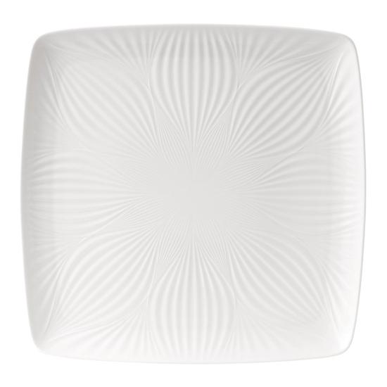 White Folia Square Tray 30cm