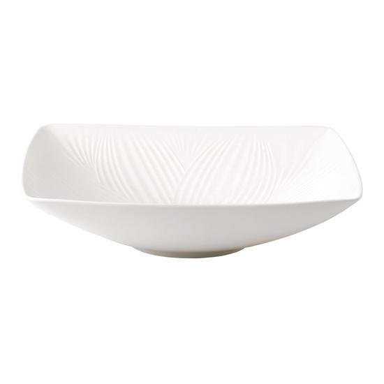 White Folia Statement Bowl 26cm