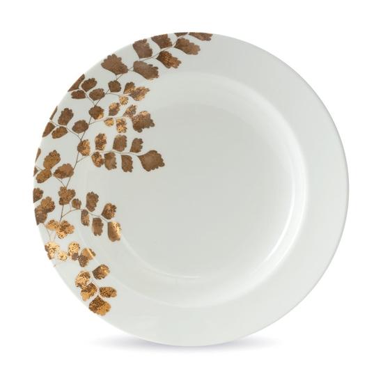 Vera Wang Jardin Rim Soup Plate 22cm