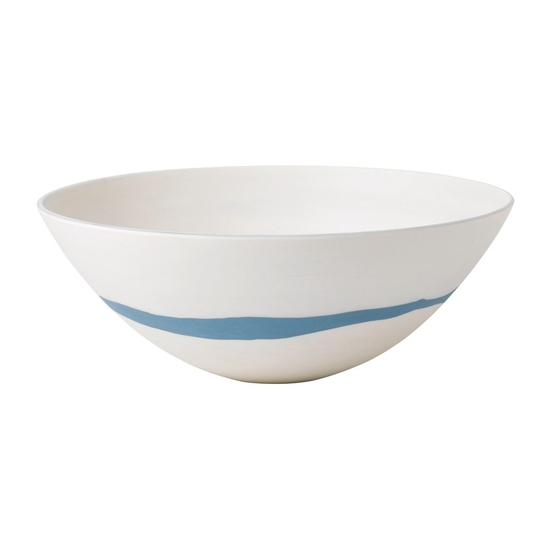 Blue Pebble Bowl 24.5cm