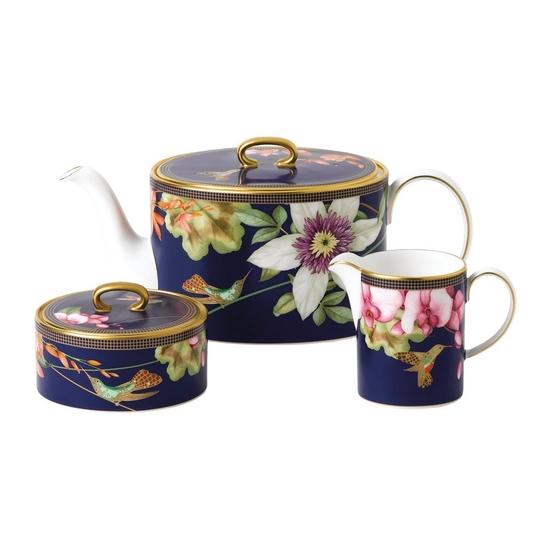 Hummingbird 3 Piece Tea Set