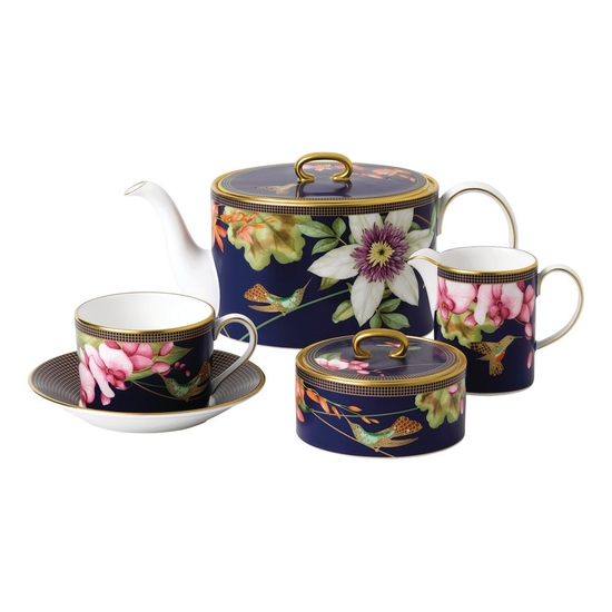 Hummingbird 15 Piece Tea Set