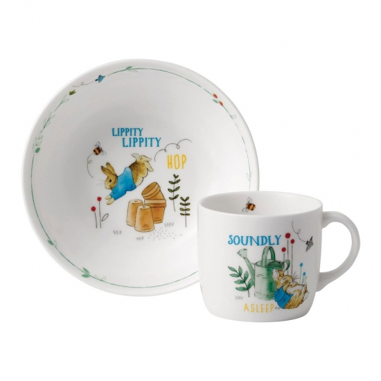 Peter Rabbit Blue 2 Piece Set