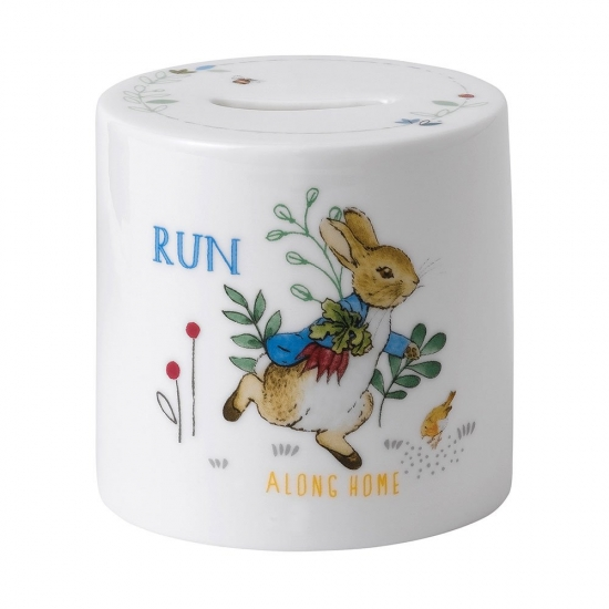 Peter Rabbit Blue Money Box