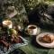 Christmas Teacup & Saucer Set of 4