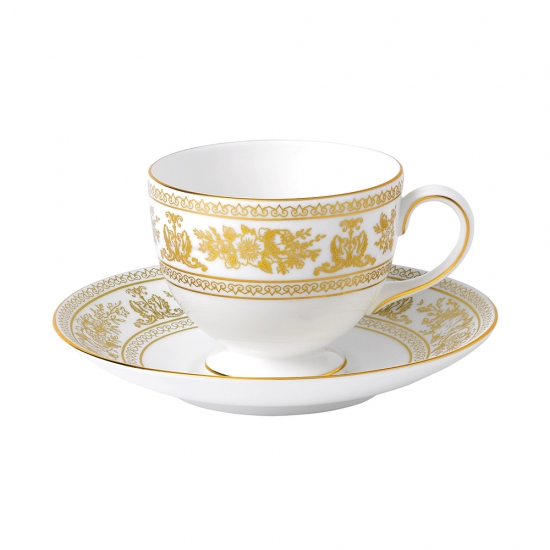 Gold Columbia Leigh Teacup & Saucer
