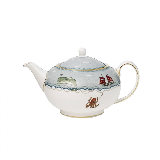 Sailor's Farewell Teapot Large