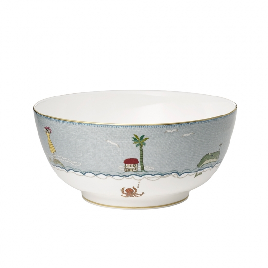 Sailor's Farewell Serving Bowl 25cm