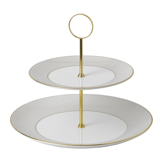 Arris 2 Tier Cake Stand