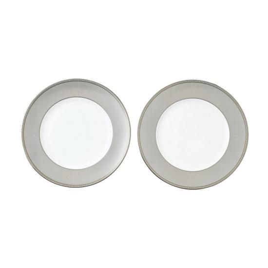 Winter White Plates 27cm Set of 2