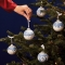 Christmas Skating Bauble Ornament