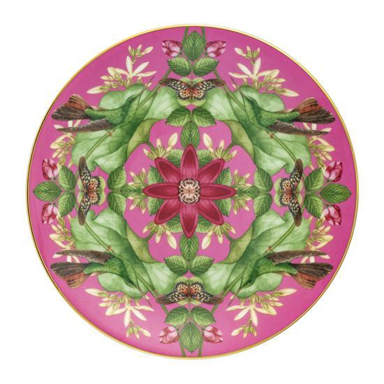 Wonderlust Pink Lotus Plate 20cm