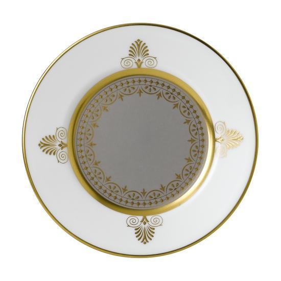 Anthemion Grey Plate 15cm