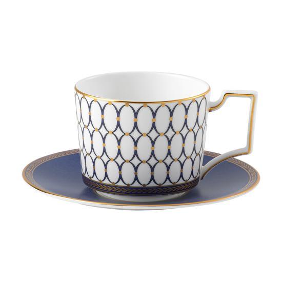 Renaissance Gold Teacup & Saucer